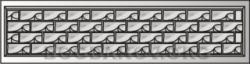 Плита бетонного забора A1