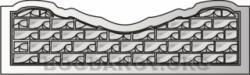 Плита бетонного забора A5
