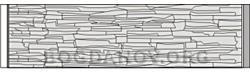 Плита бетонного забора Б7