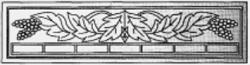 Плита бетонного забора В1
