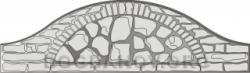 Плита бетонного забора Г2