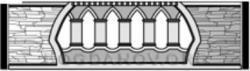 Плита бетонного забора Н1