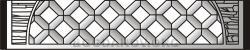 Плита бетонного забора Б9
