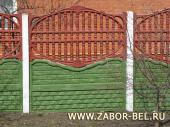 Бетонный забор фото №10