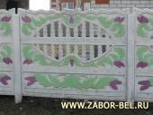 Бетонный забор фото №11