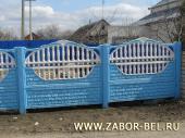 Бетонный забор фото №15