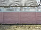 сборный забор