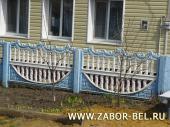 забор бетонный декоративный